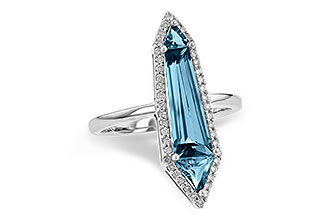 G226-37862: LDS RG 2.20 LONDON BLUE TOPAZ 2.41 TGW